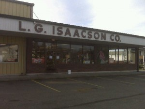 L.G. Isaacson Aberdeen Branch 2301 Commerce St Aberdeen, WA 98520 PO Box 127 Phone: (360) 532-3362